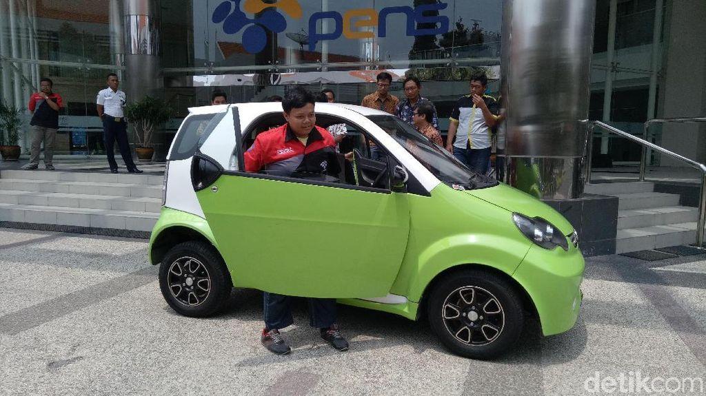Kalau Dijual Massal, Mobil Listrik Surabaya Harganya Rp 80 Juta