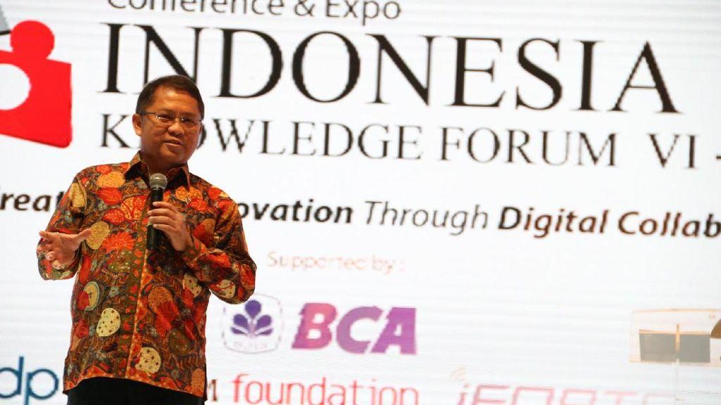 Menkominfo Hadiri Pembukaan Indonesia Knowledge Forum VI