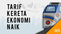 Catat! Per 1 Januari 2018, Tarif Kereta Ekonomi Naik