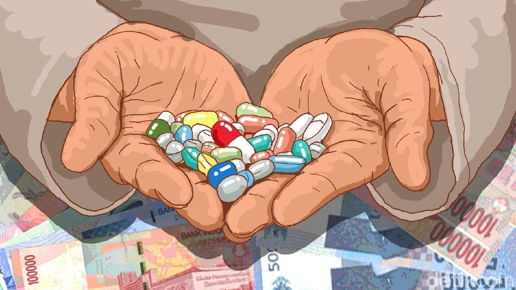 Omzet Miliaran Pasar Obat Pramuka