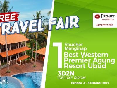 Free Travel Fair: Menginap Gratis di Best Western Premier Agung Resort Ubud