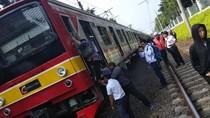 Ada KRL Anjlok, Penumpang dari Bogor Paksa Turun di Tanjung Barat
