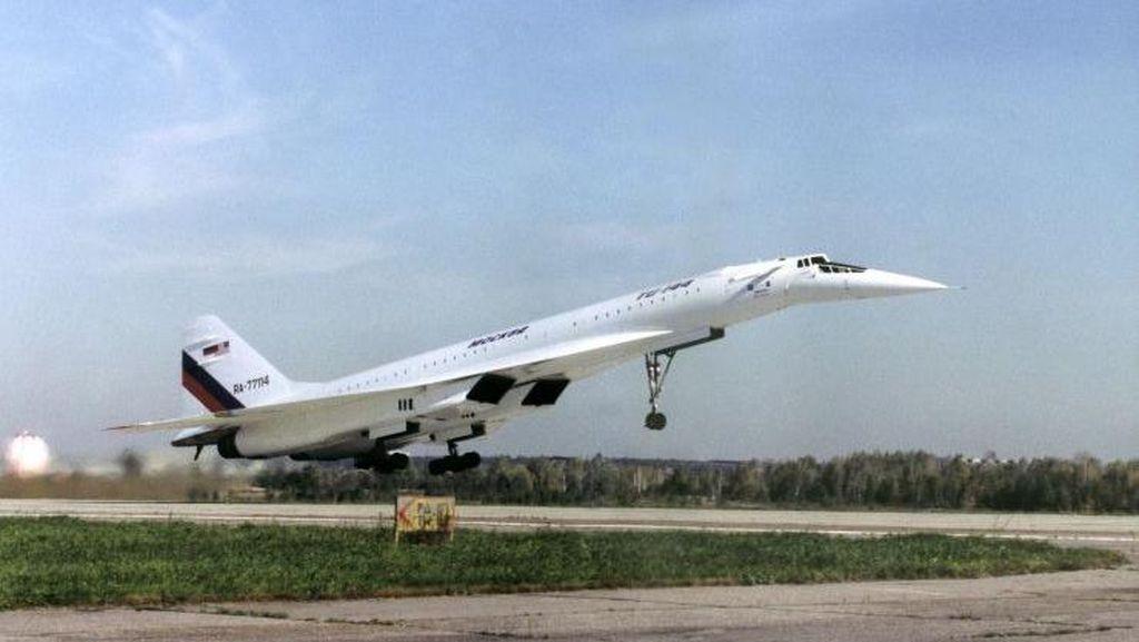 Potret Tragis Pesawat Komersial Supersonik Concordski