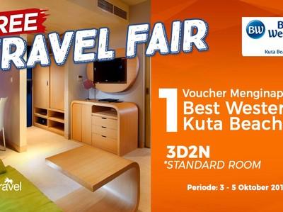 Free Travel Fair: Tidur Gratis di Best Western Kuta Beach