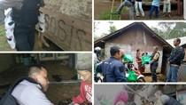 Kapolsek Cireunghas Sukabumi Apresiasi Aksi Sosial Brigadir Dikri