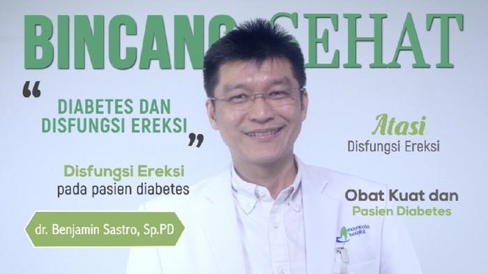 Pria yang mengidap diabetes berisiko disfungsi ereksi/Foto: 20detik