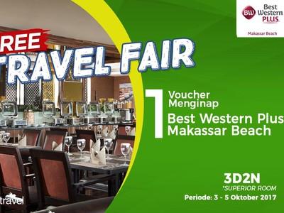 Free Travel Fair: Menginap Gratis di Best Western Plus Makassar Beach