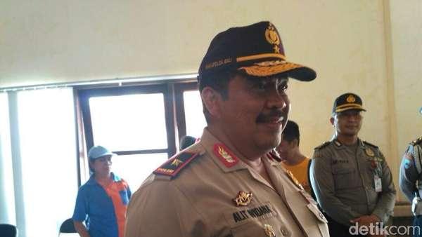 Polda Bali Ajukan Penambahan Anggaran Kontingensi Erupsi Rp 3,5 M