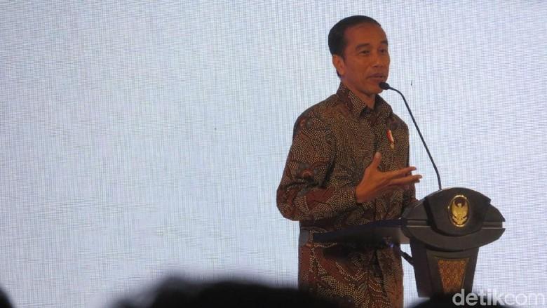 Jokowi Cerita Soal Milenial yang Doyan Kopi dan Cokelat