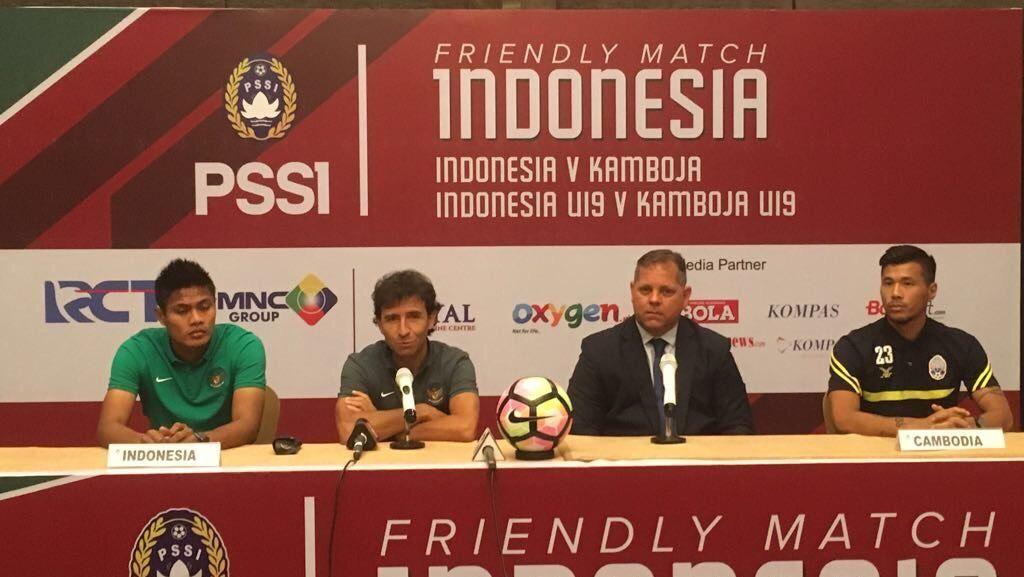 Ujicoba Indonesia vs Kamboja Tak Masuk Hitungan Poin FIFA