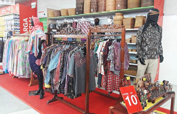 Foto: Pasar Kaget Batik di Transmart Carrefour (Dok. Transmart Carrefour)