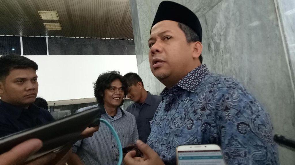 Fahri Hamzah Harap Tak Ada Aksi WO di Paripurna Putusan Perppu Ormas