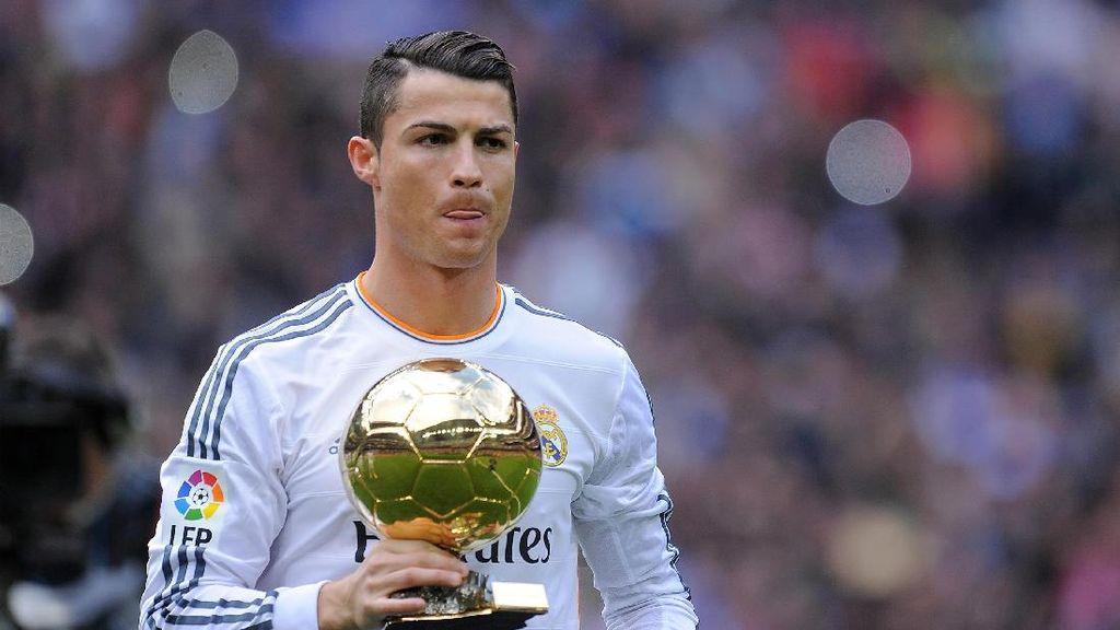 Ronaldo Sumbangkan Trofi Ballon dOr-nya untuk Amal