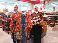 Serba Diskon Batik di Pasar Kaget Transmart dan Carrefour