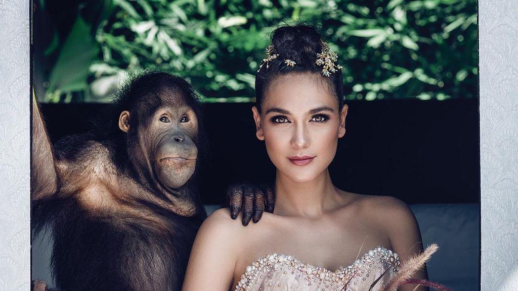 Dikecam karena Pemotretan dengan Orangutan, Luna Maya Buka Suara