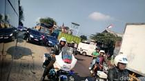 Berangkat HUT ke-72 TNI di Merak, Jokowi Terjebak Macet