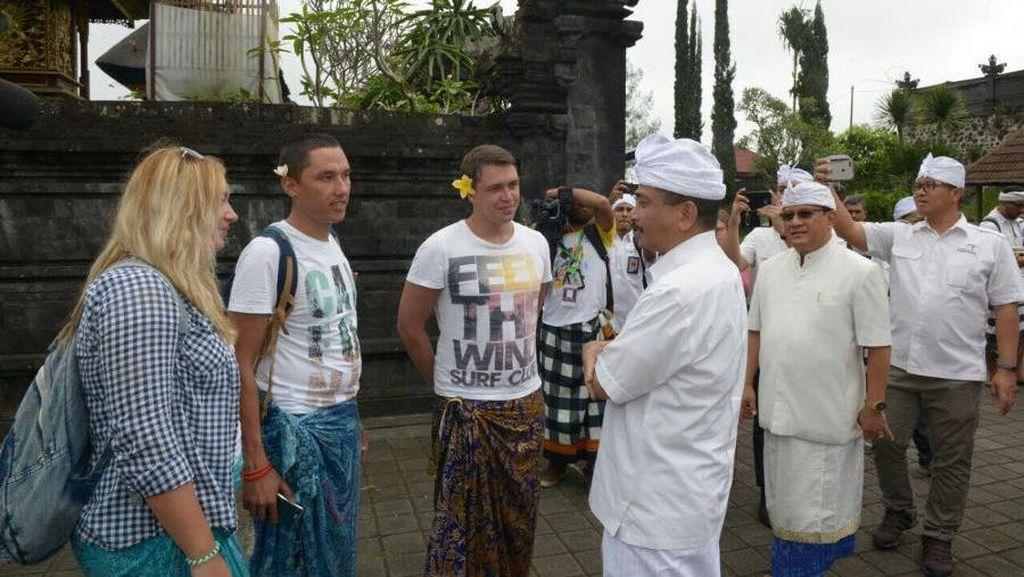 Gunung Agung Masih Awas, Pembatalan Turis ke Bali Capai 25 Persen