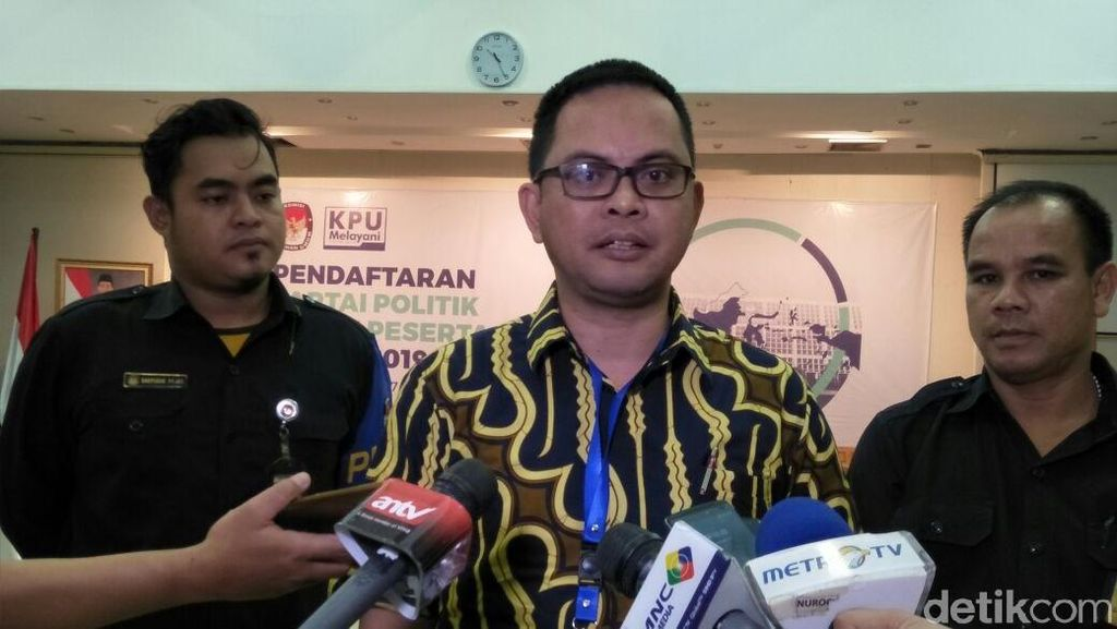 10 Parpol Sudah Konsultasi ke KPU terkait Pendaftaran Pemilu