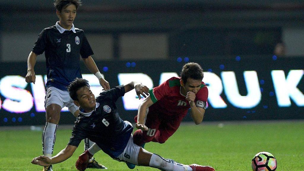 Pelatih Kamboja: Indonesia Lebih Baik dalam Penguasaan Bola