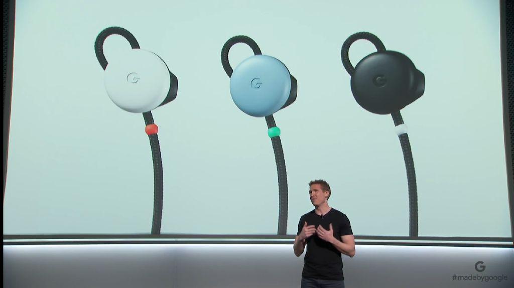 Earphone Canggih Google Pixel Buds Dikapalkan