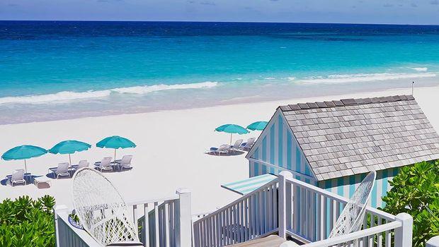 Resort pantai di Harbour Island (Dunmorebeach.com)