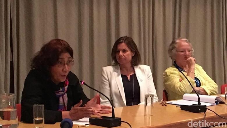 Susi Beberkan Alasan Penenggelaman Kapal Asing di Forum Kelautan Eropa