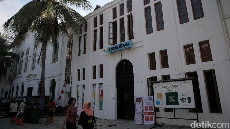 Usai Direvitalisasi Gedung Kerta Niaga Jadi Market Place