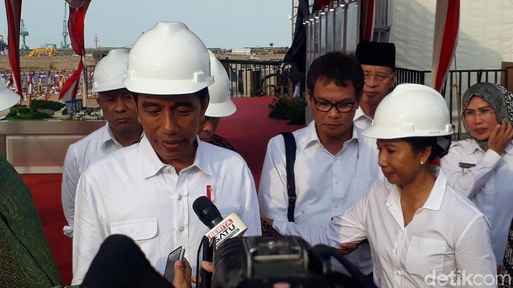 Resmikan PLTU di Serang, Jokowi: Tak Ada Lagi Ngeluh Soal Listrik
