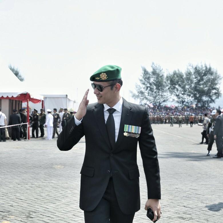 PD Sebut Elektabilitas Prabowo Loyo - Agus Harimurti Dok The Yudhoyono Institue Elektabilitas Ketum Gerindra Prabowo Subianto loyo dalam bursa capres Wakil Ketua Umum