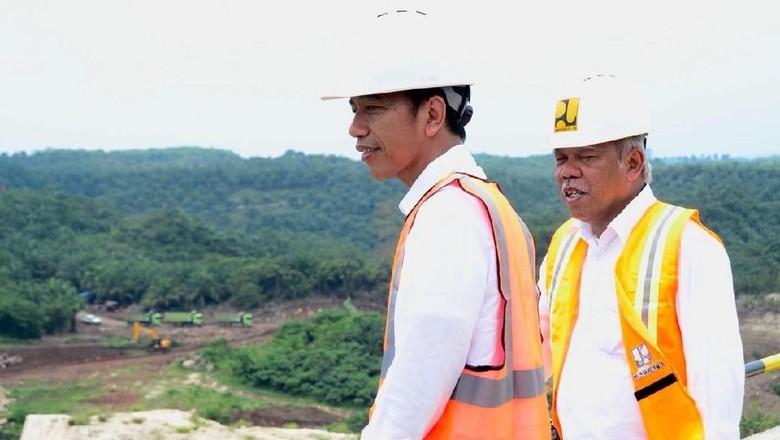 Kagumnya Jokowi Lihat Proyek Bendungan Ke-3 Terbesar RI