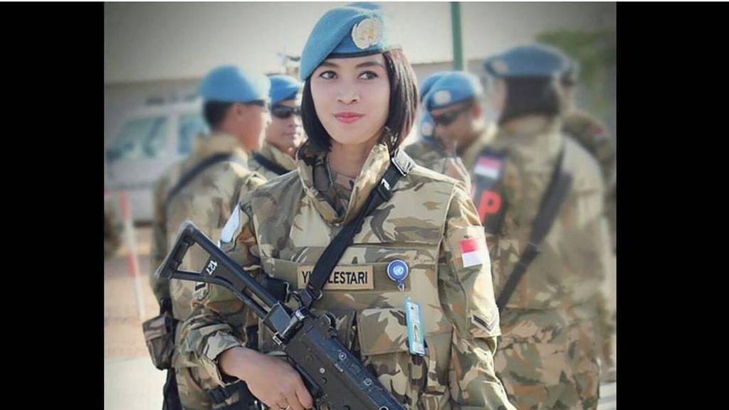 Foto: Terpesona 10 Srikandi Cantik TNI, Parasnya Nggak Kalah sama Model