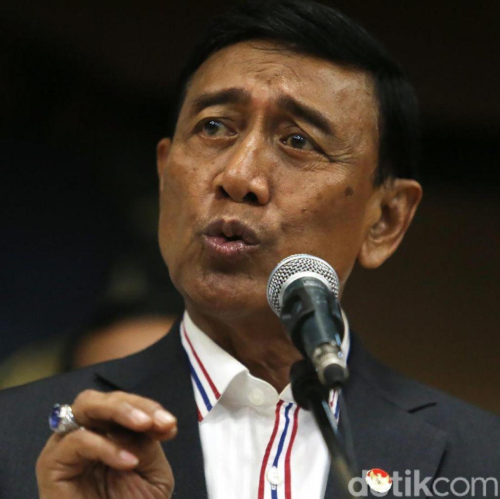 Soal TGPF Novel, Wiranto Percayakan Penanganan Kasus ke Aparat