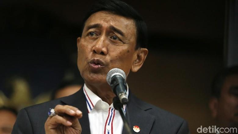 Rapat dengan Kapolri-Panglima, Wiranto: Stop Pecah Belah Soliditas