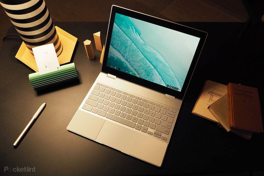 Pixelbook hadir dengan desain yang sangat tipis dan ringan. (Foto: pokcet-lint)