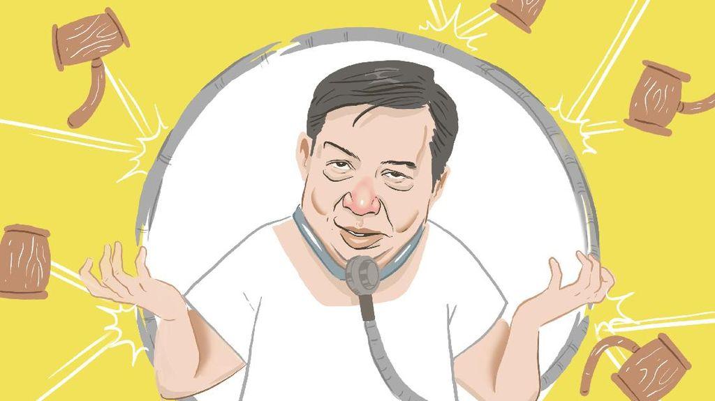 Setya Novanto dan Mukjizat Keadilan Hukum