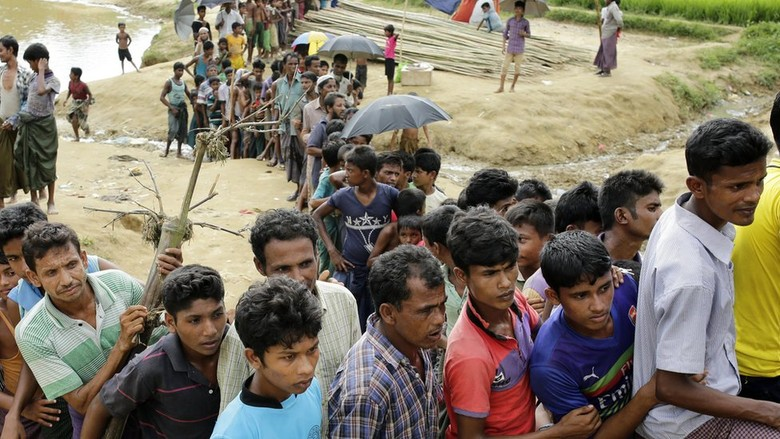 Organisasi Bantuan Inggris Serempak Galang Dana Bagi Rohingya
