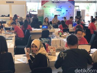 Banjir Promo di Mega Travel Fair Makassar