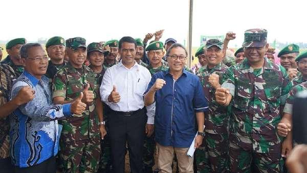 HUT Ke-72 TNI, Ketua MPR Ajak Teladani Jenderal Sudirman