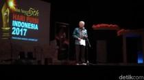 Aksi Mendag Baca Puisi Karangannya Kursi Berduri Menteri