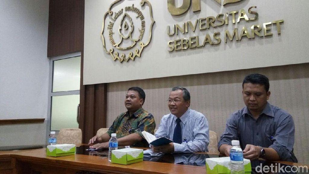 Rektor UNS Bentuk Tim untuk Evaluasi Edaran Wajah Wajib Terlihat