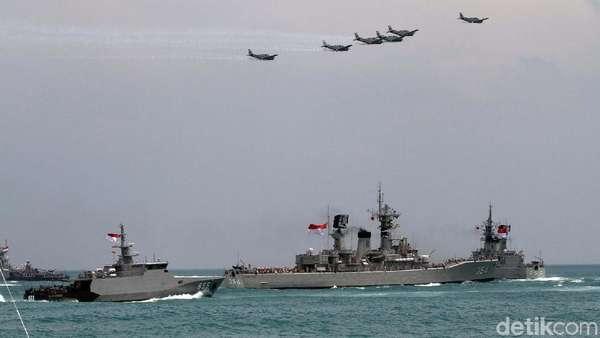 KSAL Bangga 48 KRI Ditampilkan di HUT TNI Ke-72