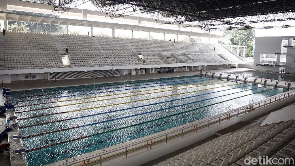 Sandi: Stadion Akuatik GBK Sudah Siap Diresmikan Presiden