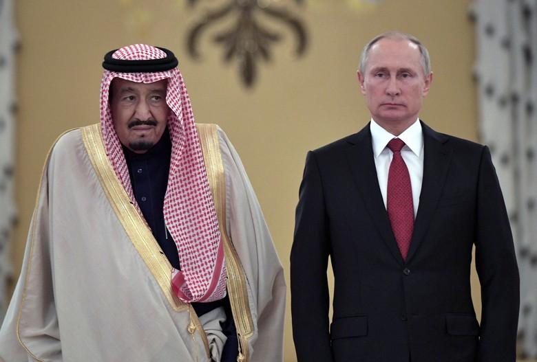 Raja Salman Beli Sistem Pertahanan Udara dari Rusia