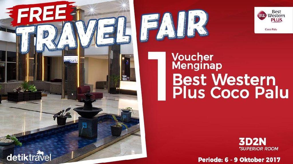 Free Travel Fair: Gratis Menginap di Best Western Plus Coco Palu