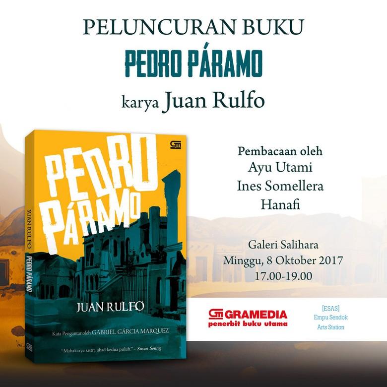 Meriahkan LIFEs 2017, Novel Karya Juan Rulfo Rilis di Jakarta