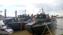 HUT TNI ke-72 di Palembang, Alutsista Dipamer di Jembatan Ampera