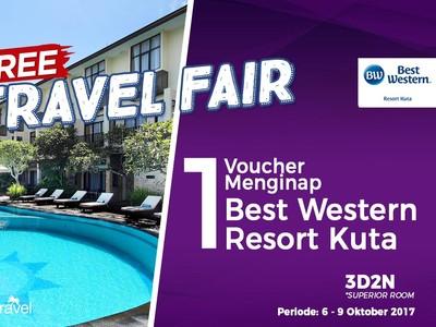 Free Travel Fair: Bermalam Gratis di Best Western Resort Kuta