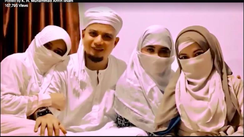 Ustad Arifin Ilham dan Ketiga Istrinya, Resepsi Pernikahan Laudya Cynthia Bella