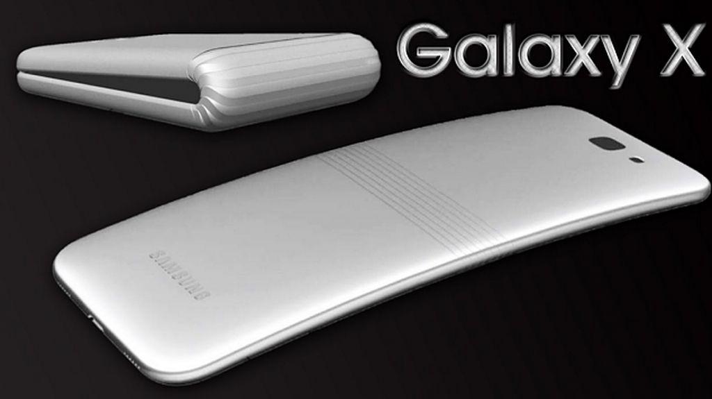 Ini Bukti Eksistensi Ponsel Layar Lipat Galaxy X