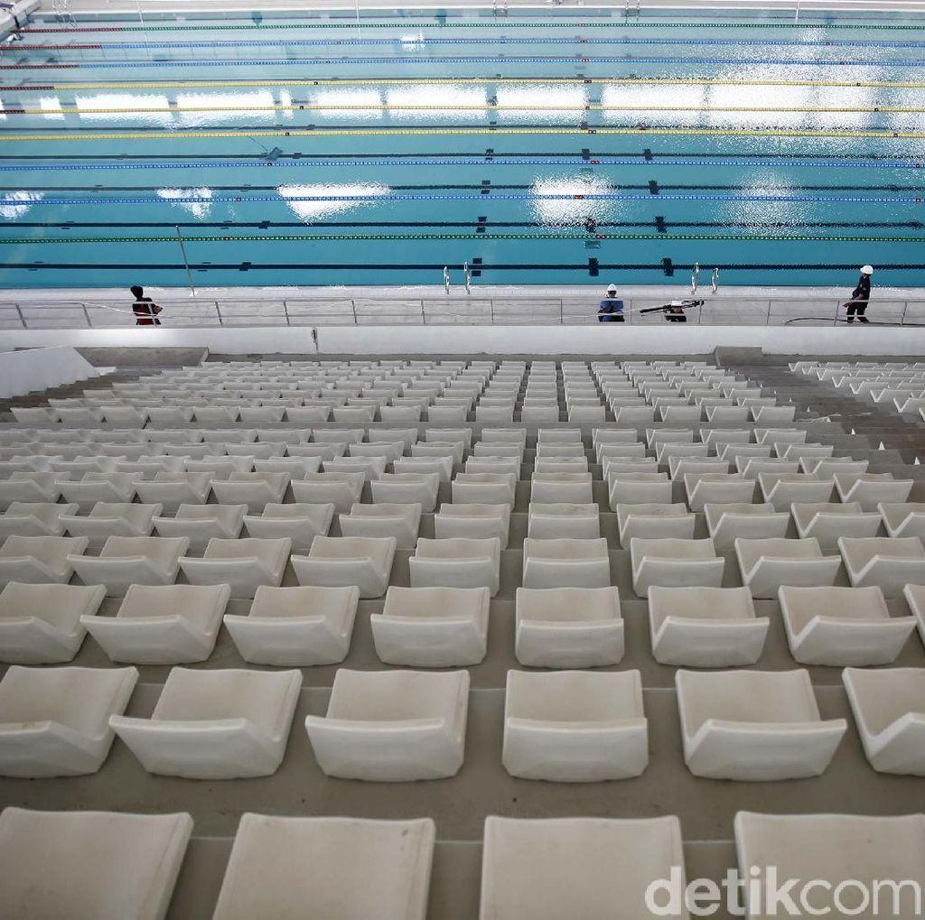 Imbauan Perenang untuk Para Penonton di Stadion Akuatik